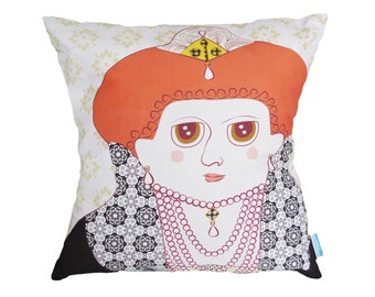 Queen Elizabeth I Pillow Cover - LIMITED EDITION