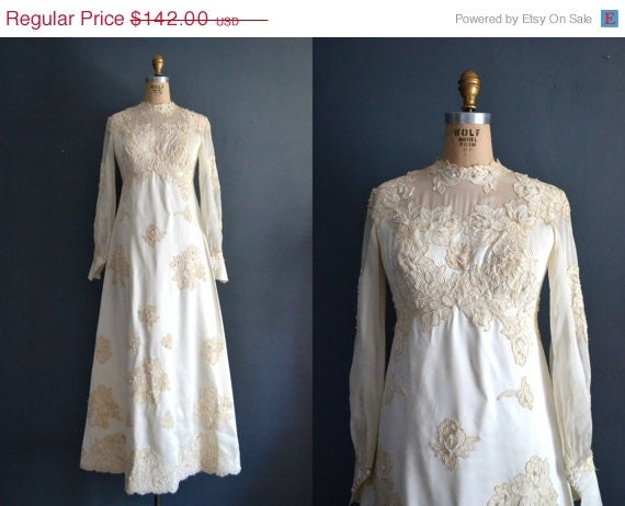 70s wedding dress 1970s wedding dress cosette by for 1970s wedding dresses for sale