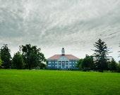 James Madison University Wilson Hall, Graduation Gift, Harrisonburg Virginia, JMU Quad Photo 8x10 Photo Art, Framed Photography Option
