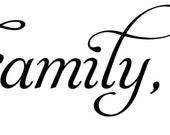 Faith, Family, Friends - 24inch wall decal