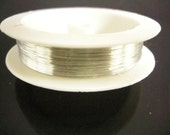 1 roll 25 meters silver brass wire 0.35mm gauge 29 thickness-7682