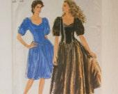Simplicity Pattern 7498  Size 8-20 Multi Size Pattern Formal Dress