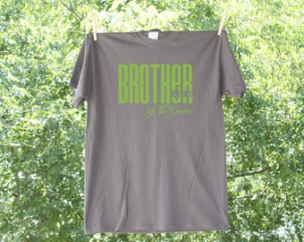 Brother of the Groom Classic Droid with wedding Date Wedding Party Shirt