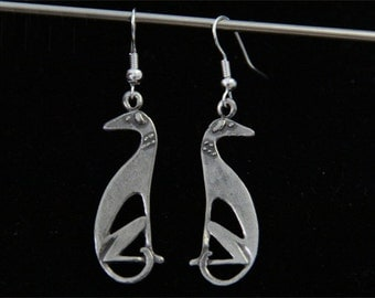 Greyhound Earrings - Whippet Galgo Earrings