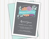 Bridal Shower Banner Invite | 5x7 | Double Sided