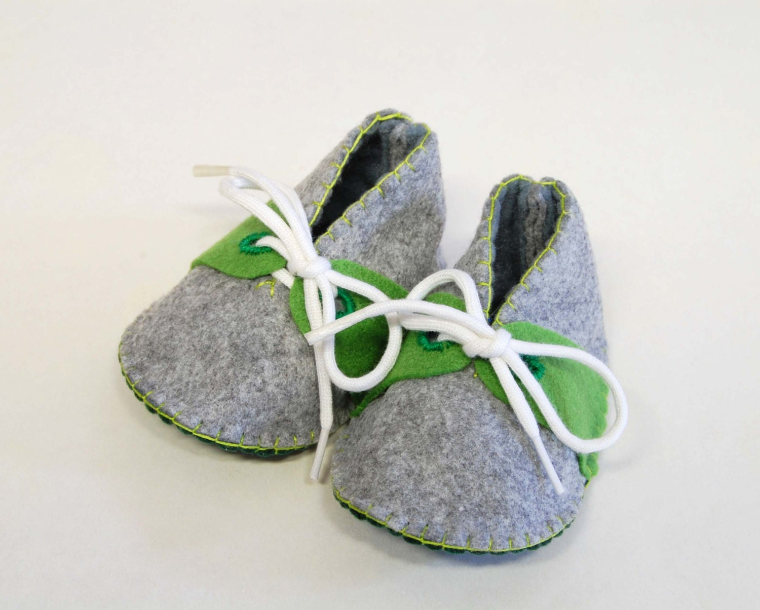 Baby Felt Shoes Months Outfit Boys Gray