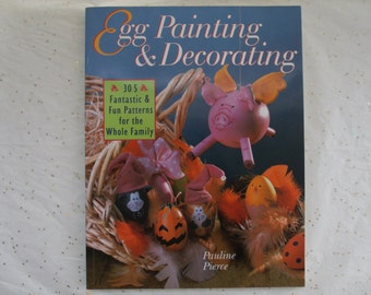 Vintage Egg Painting Decorating Book
