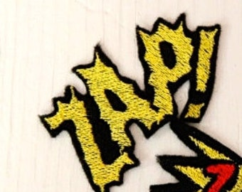 Limited - ZAP! Design for Embroidery,  Multiple Formats Available. POP ART. Comic Book. Geek