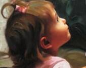 Black & White Photo to Color Oil Painting Portrait on Canvas Fine Art Painting Services