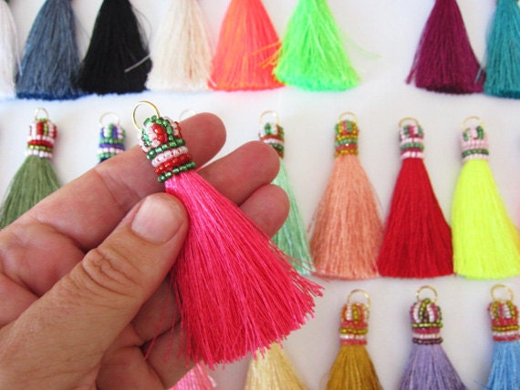 how to make beaded tassels for jewelry