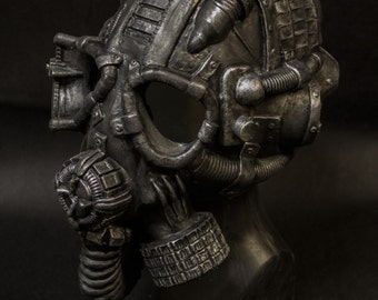 Post apocalyptical Gas mask,  full head mask.