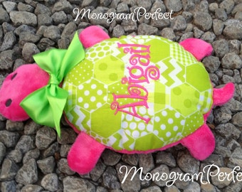 ABIGAIL - Already Personalized Turtle Stuffed Animal