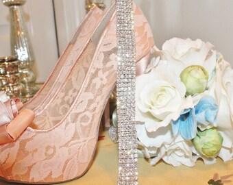 Rhinestone Bridal Or Bridesmaid Gown Sash