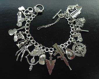 Zombie The Walking Dead charm bracelet