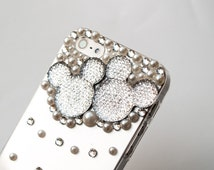 Disney iPhone case mickey iPhone cover clear cyrstal, iPhone 5 s iPhone 6
