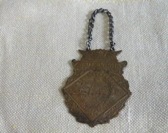 Antique 1897 Saengerfest Medal Philadelphia Pennsylvania