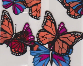 Butterfly Cellophane Gussetted Packaging Bag - Treats, Soaps, Candy