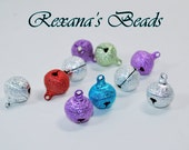 Multicolored Stardust 16mm Bell Mix- Set of 10