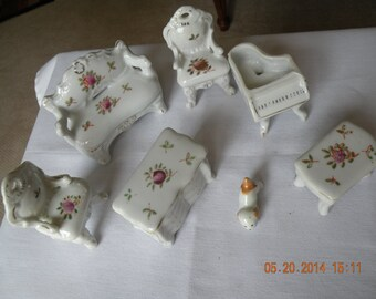 Bone China Doll House Furniture
