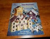 Plastic Canvas Birdhouse Tissue Box Cover Pattern Book