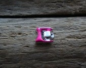 Hot Pink Mixer floating charm for locket.  2014 newest floating charms~ origami owl-like spring collection charms