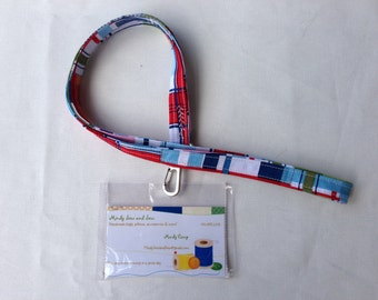 Lanyards - Madras Plaid
