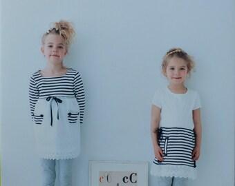 Petit Remake Clothes for Girls by Akemi Minagawa & Tae Suzuki Japanese Sewing Pattern Craft Book