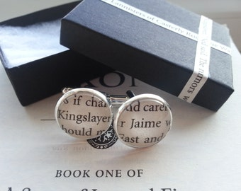 Game of Thrones Cufflinks - choose your characters
