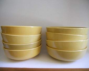 Franciscan England Honeycomb Soup Bowls - set of 8