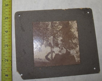 vintage b/w/ black and white photo photograph southern couples