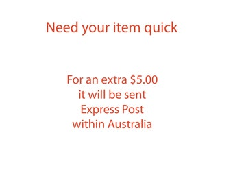 Express Post - within Australia Only