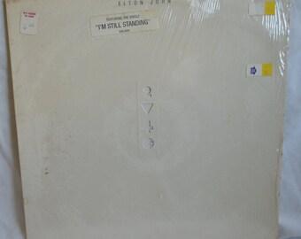 Vintage Record Elton John: Too Low for Zero Album GHS-4006