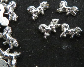 Galloping Horse Floating Charm
