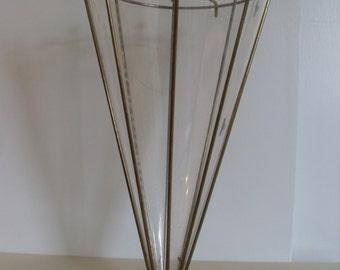 Vintage Mid Century, Flower Holder/Basket