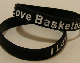 I Love Basketball Bracelet!