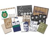 MOVING SALE 20% off  Dapper Dan Embellishment Kit- 3 Package of Embellishments- Glitz Design