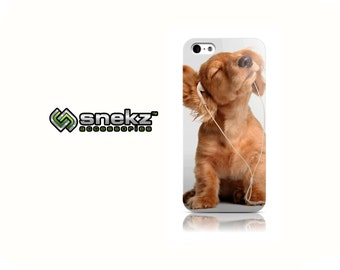 Music Puppy Design iPhone 4 4s, iPhone 5/5s, Iphone 5c Hard Case Cover