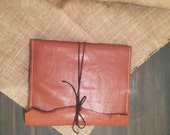 No. 6 Rustic 8.5 x 11 Refillable Leather Sketchbook & Portfolio Cover // Can Make Custom