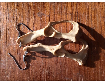 Irreverent Trickster Mink Earrings