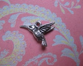 Humming charm jewelry supplies charm supplies Bird supplies