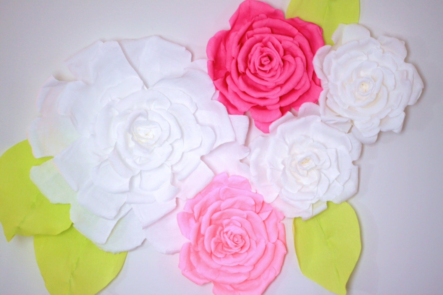 giant paper flower wall display  nursery decor 4ft x 3 ft