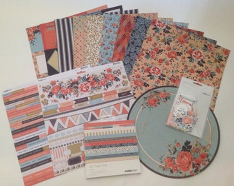 """NEW KAISERCRAFT- Blubelle Bundle Collection 12"""" x 12"""" inches"""