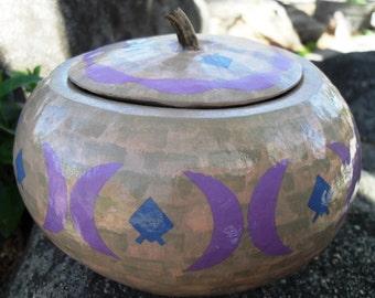 Earthenware Gourd OOAK