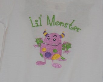 My Little Monster with Wings / Onesie or T-Shirt