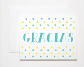 Thank You Card- Gracias