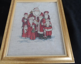 Santas, Santas, Santas