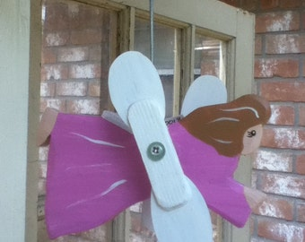 Angel Whirligig, Yard Art