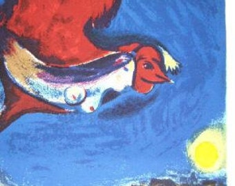 Chagall  DLM   cover Lithographs