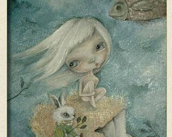 """original oil painting...""""Alice.."""""""
