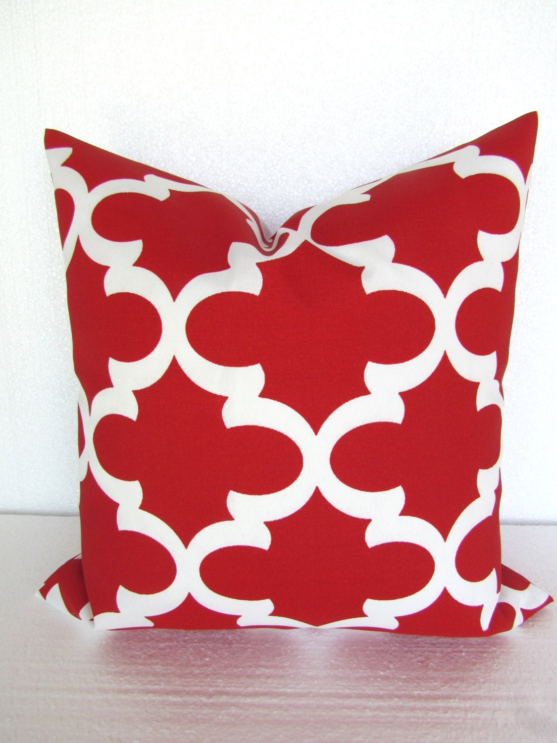 Throw Pillow Red : RED OUTDOOR PILLOWS Red Throw Pillows Red Outdoor Pillow